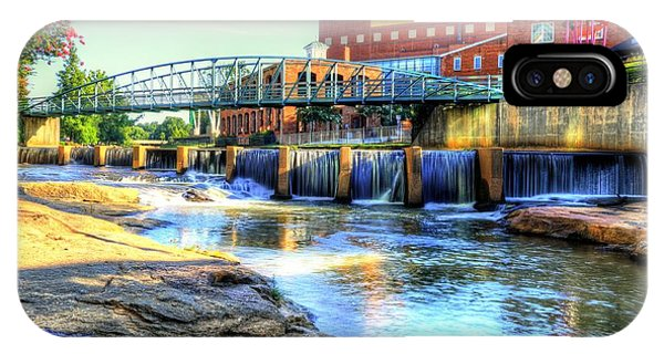 On The Reedy River In Greenville IPhone Case