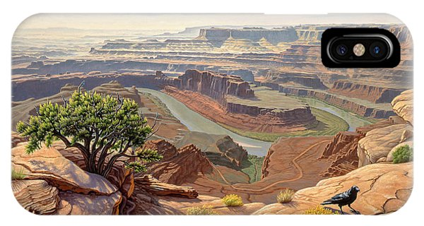 Canyon iPhone Case - On The Rim-dead Horse Point by Paul Krapf