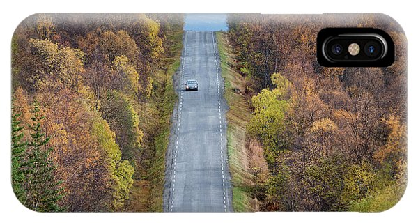On The Road Again Phone Case by Christian Lindsten