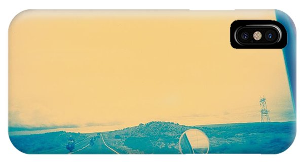 IPhone Case featuring the photograph On The Road by Carol Whaley Addassi
