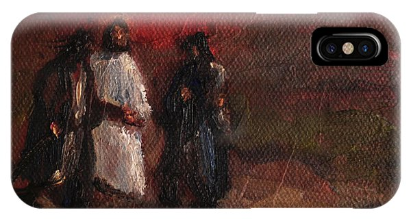 On the road to emmaus painting by carole foret for Road case paint
