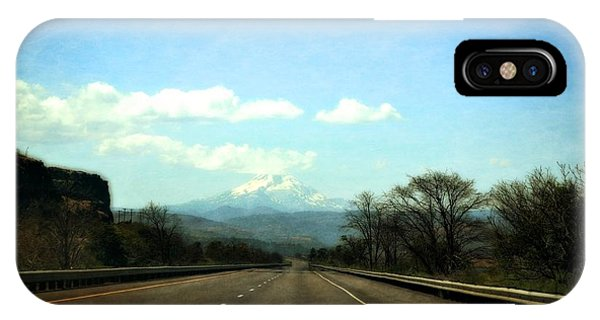 On The Road To Mount Hood IPhone Case