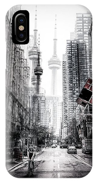 Mood iPhone Case - On The Streets Of Toronto by Carmine Chiriac?