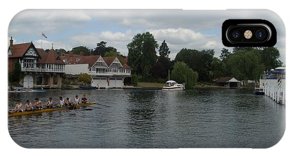 On The Thames Henley IPhone Case