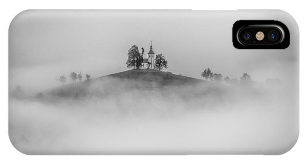 Hill iPhone Case - On The Top Of The Hill by Peter Svoboda, Mqep