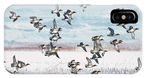 On The Wing IPhone Case
