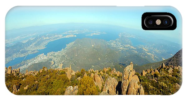 On Top Of The World Tasmania IPhone Case