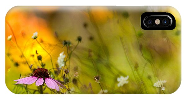 Once Upon A Time There Lived A Flower IPhone Case