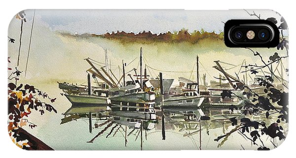 Gig Harbor Foggy Morning View IPhone Case