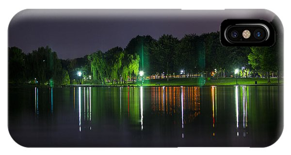 One Foot Lake Phone Case by Michael Williams