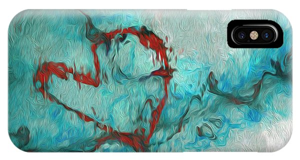 Visual Illusion iPhone Case - One by Jack Zulli