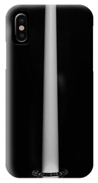 One Light - Bw Phone Case by Nicholas Evans