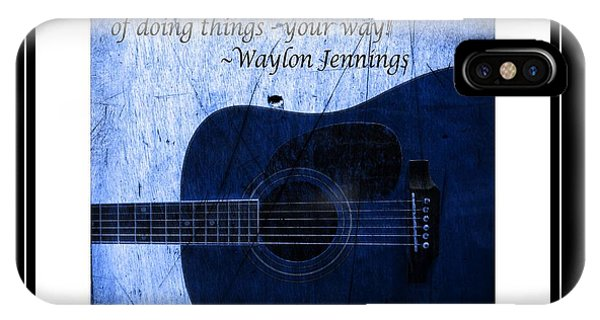 One More Way - Waylon Jennings IPhone Case