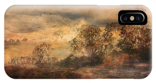 One October Day IPhone Case