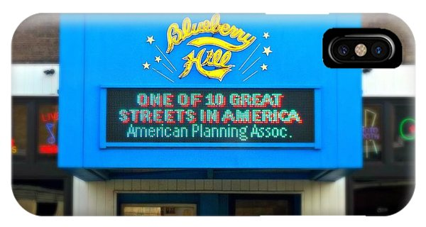 One Of Ten Great Streets In America IPhone Case