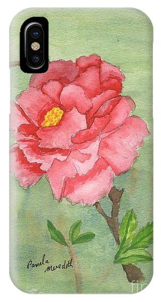 One Rose IPhone Case