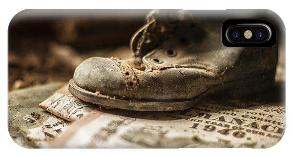 One Single Shoe IPhone Case