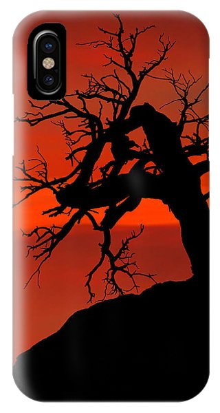 One Tree Hill Silhouette IPhone Case