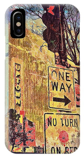 One Way To Uptown IPhone Case