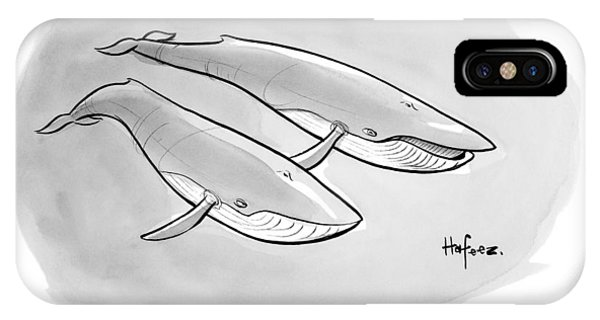 One Whale Says To Another IPhone Case