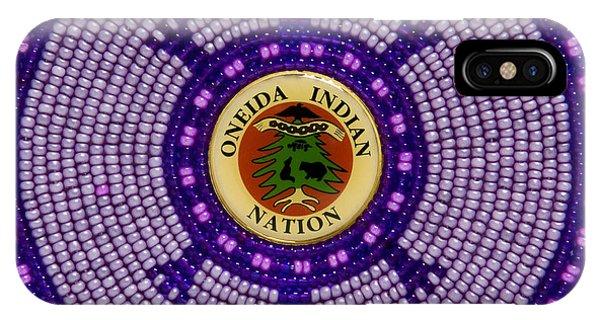 Oneida Nation 092108 IPhone Case