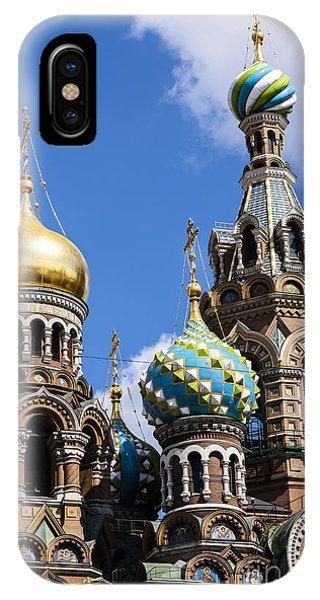 Onion Domes Church Of Spilled Blood IPhone Case