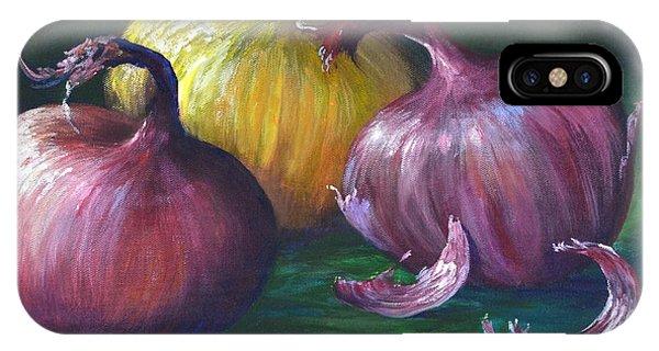 Onions IPhone Case