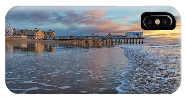 Orchard Beach iPhone Case - OOB by Stephen Beckwith