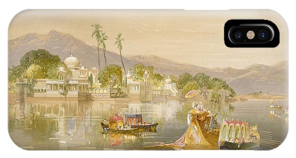 Regatta iPhone Case - Oodypure, The Jugmunder Palace by William 'Crimea' Simpson