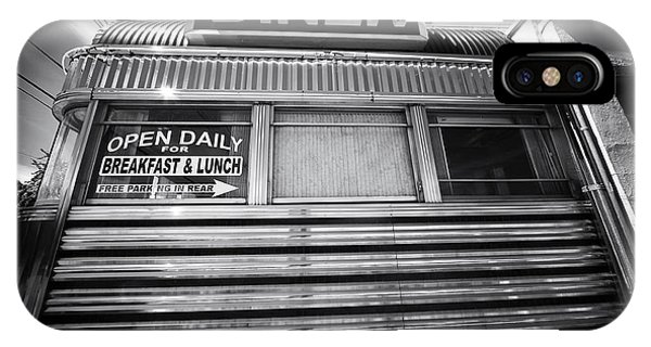 Open Daily Breakfast And Lunch IPhone Case