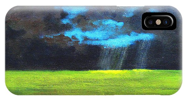 Open Field IIi IPhone Case