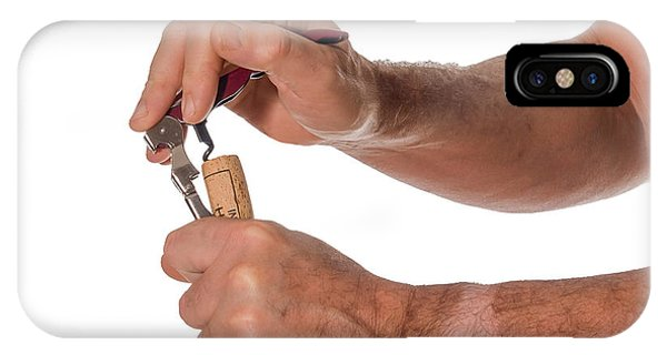 It Professional iPhone Case - Opening A Bottle Of Wine by Patricia Hofmeester