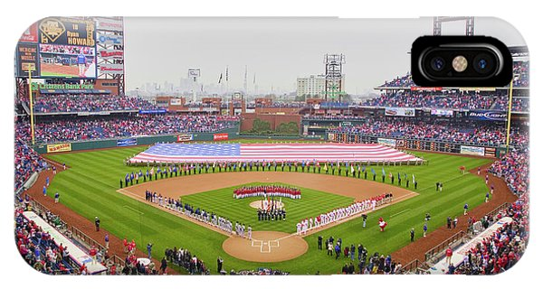 iPhone Case - Opening Day Ceremonies Featuring by Panoramic Images
