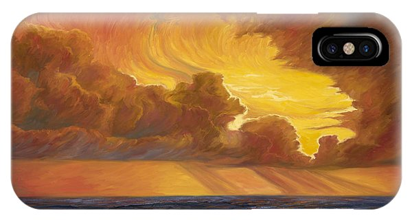 Opening iPhone Case - Opening Sky by Lucie Bilodeau