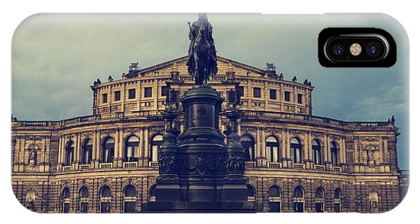 Opera House In Dresden IPhone Case