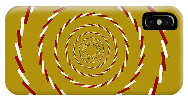 Optical Illusion Whirlpool IPhone Case
