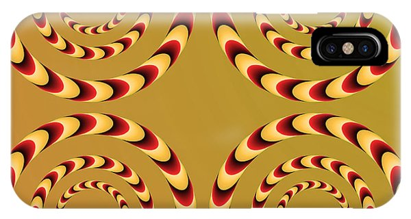 Optical Ilusions Summer Spin IPhone Case