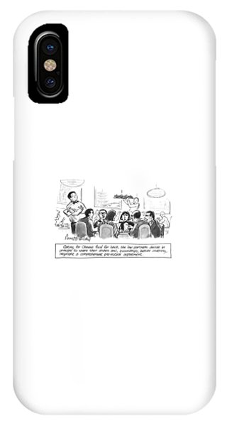 Opting For Chinese Food For Lunch IPhone Case