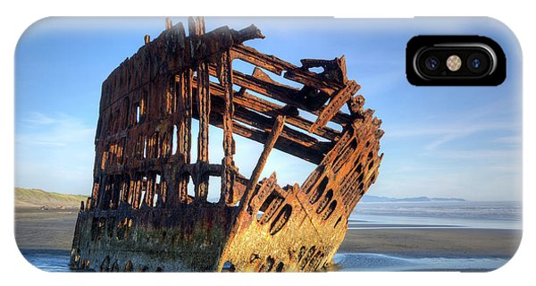 Or, Fort Stevens State Park, Wreck Phone Case by Jamie and Judy Wild