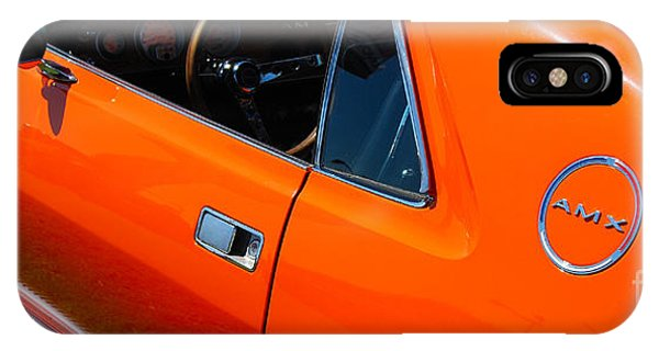 Orange Amx IPhone Case