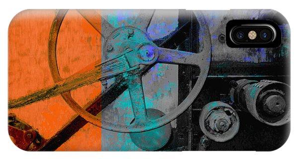 Orange And Blue  IPhone Case