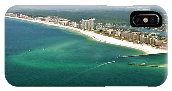 Looking N W Across Perdio Pass To Gulf Shores IPhone Case