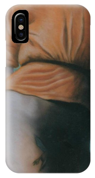 Orange Blouse IPhone Case