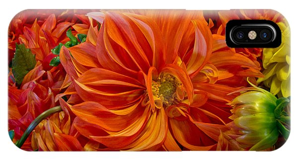 Orange Bouquet IPhone Case