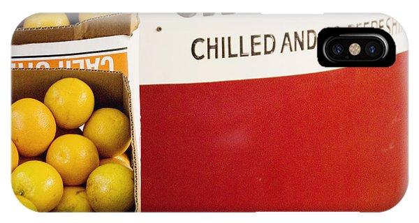 Orange Juice Stand IPhone Case