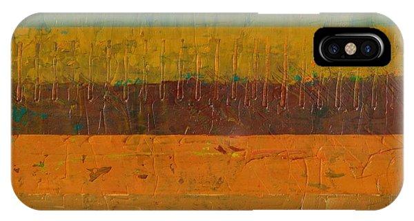 Orange Line IPhone Case