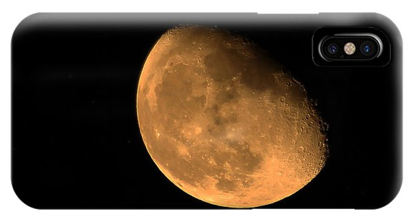 Orange Moon IPhone Case