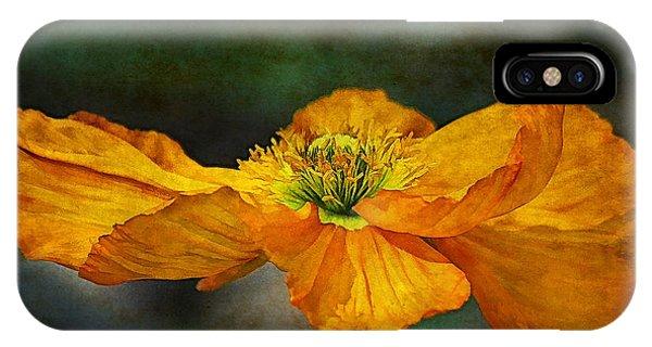 Poppies iPhone Case - Orange Poppy by Zsuzsanna Szugyi