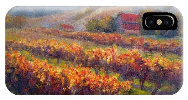 Orange Red Vines IPhone Case