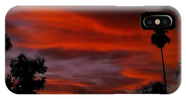 Orange Sky IPhone Case